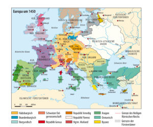 Europa um 1450