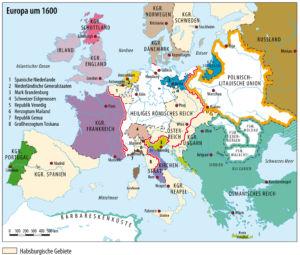 Europa um 1600