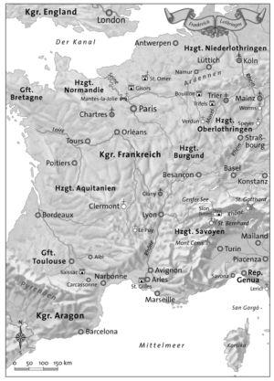 Frankreich und Lothringen zur Zeit der Kreuzzüge