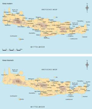 Kreta historisch und modern