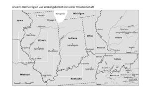Lincolns Heimatregion