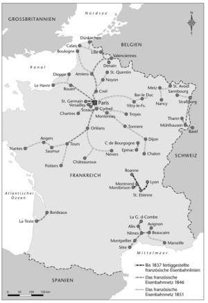 Eisenbahn in Frankreich