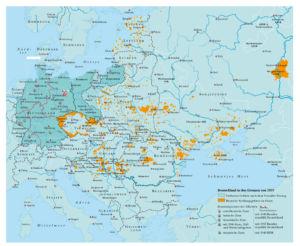Deutsche Siedlungsgebiete im Osten