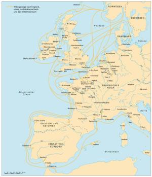 Wikinger in Westeuropa