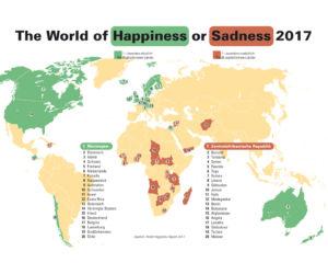 Wo fühlen sich die Menschen wohl?