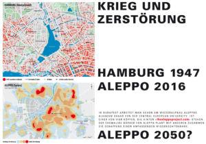 Krieg und Zerstörung Hamburg/Aleppo