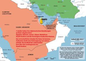 Ein Land wird boykottiert - Katar in der Isolation im Arabischen Raum