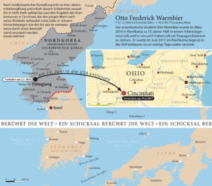 Otto Frederick Warmbier stirbt nach wenigen Tagen nach seiner Auslieferung aus Nordkorea