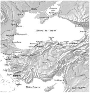 Kolonien in Kleinasien und am Schwarzen Meer