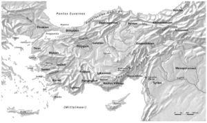 Landschaften in Kleinasien