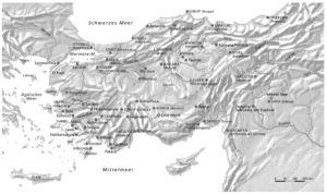 Orte in Kleinasien