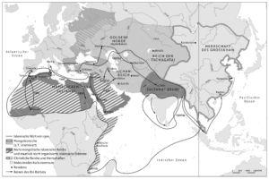 Islamische Welt um 1300