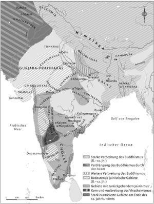 Indien 8. bis 12. Jahrhundert