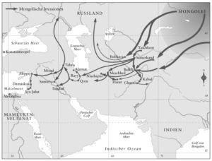Einfall der Mongolen