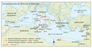 Handelsrouten der Phönizier