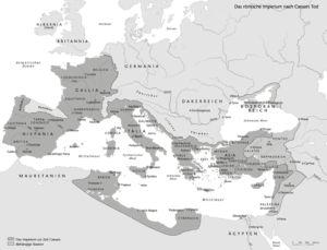 Römisches Reich nach Cäsars Tod