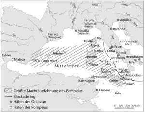 Der Krieg gegen Sextus Pompeius