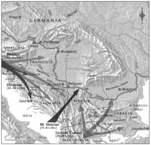 Eroberung des Balkan- und Donauraumes