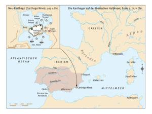 Karthager auf der Iberischen Halbinsel
