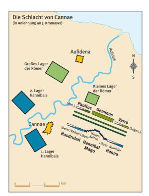 Schlacht von Cannae in Apulien