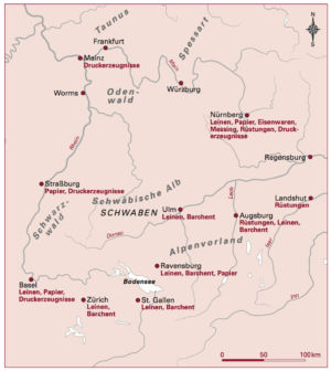 Handel in Süddeutschland