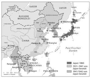Ostasien 1860 bis 1942