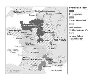 Frankreich 1259