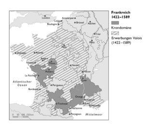 Frankreich 1422 bis 1589