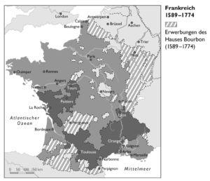 Frankreich 1589 bis 1774