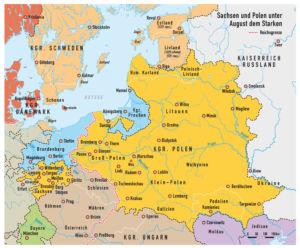 Sachsen und Polen 1740
