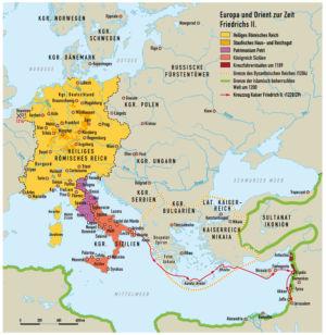 Europa und der Orient zur Zeit Friedrich II. (Staufer)
