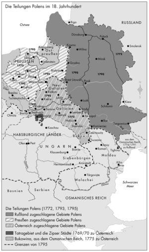 Teilungen Polens im 18. Jahrhundert