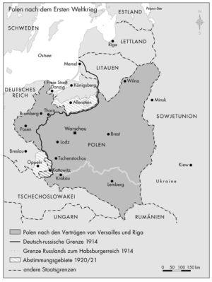 Polen 1918 bis 1945