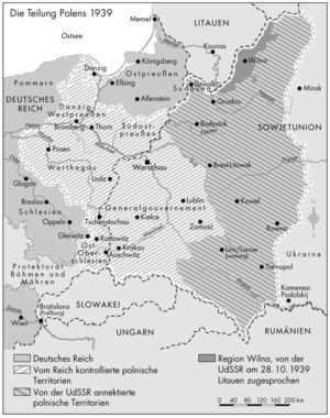 Teilungen Polens 1939