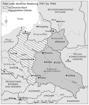 Polen unter deutscher Besatzung 1941 bis 1944