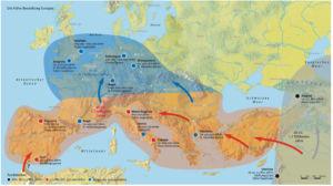 Besiedlung Europas Altsteinzeit