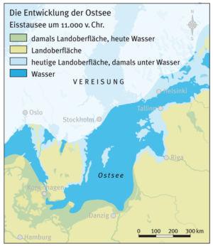 Ostsee in der Altsteinzeit