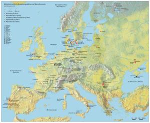 Mittelsteinzeitliche Bestattungsplätze und Menschenreste