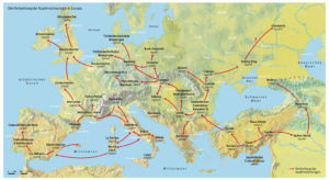 Kupfertechnologie in Europa