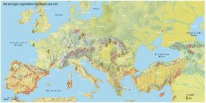 Jadeit- und Kupferabbau in Europa