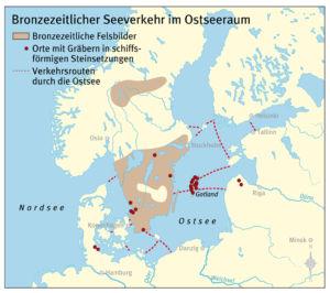 Seeverkehr in der Ostsee
