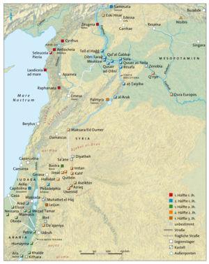 Syrien und Arabien im Römischen Reich