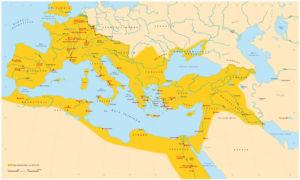 Römisches Reich 117 nach Christus