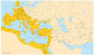 Römisches Reich und Asien
