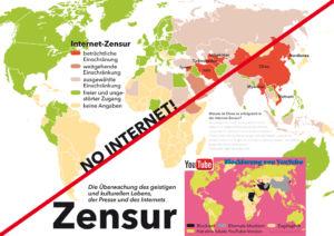 Zensur in der Welt