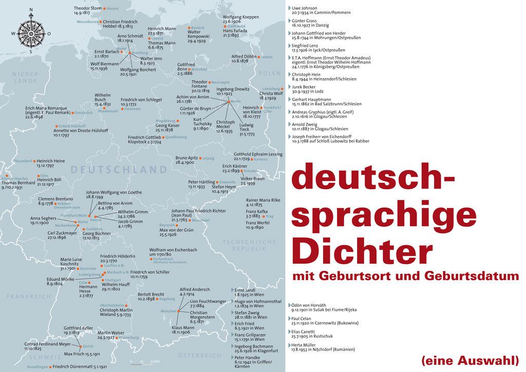 Deutschsprachige Literatur von Wolfram von Eschenbach bis Herta Müller