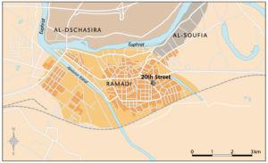 Ramadi im Irak
