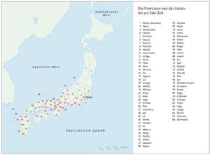 Provinzen in Japan (Heian- und Edo-Zeit)