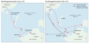 Mongoleninvasion nach Japan