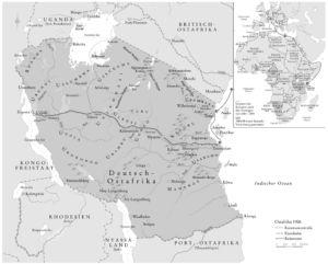 Deutsch-Ostafrika 1906
